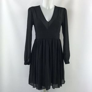 Michael Kors Black Long Sleeve Dress Size Small